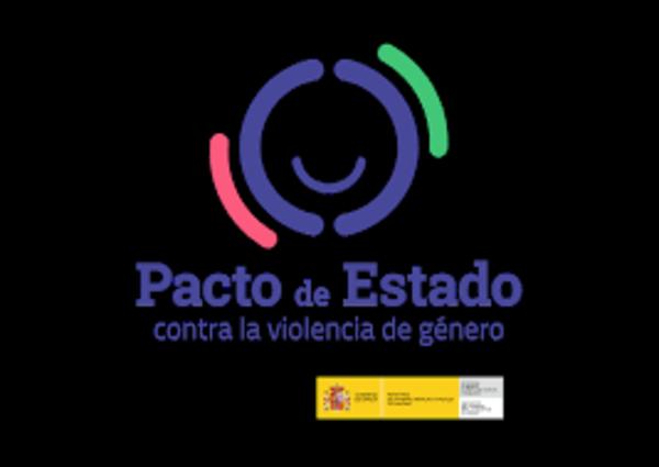 Pacto de estado contra la violencia de género - fondo negro
