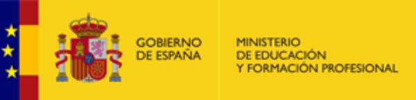 Logo ministerio educación y formación profesional