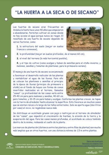 Huerta la seca