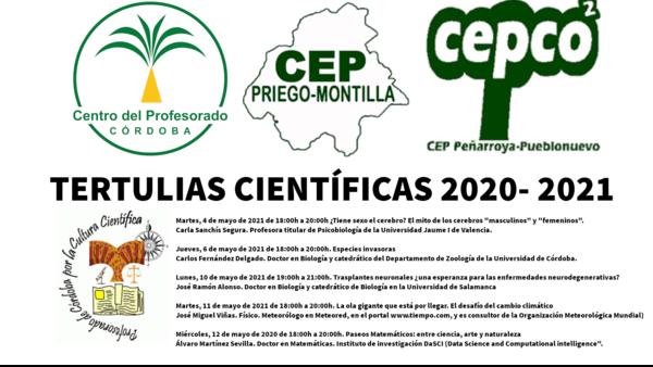 Tertulias científicas 2020-2021