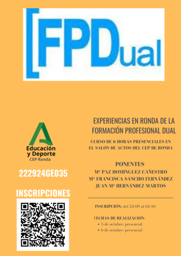 222924GE035-EXPERIENCIAS EN RONDA DE LA FP DUAL