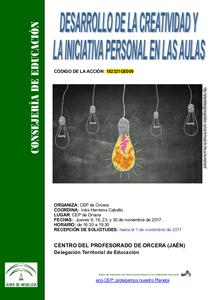 DESARROLLO DE LA CREATIVIDAD Y LA INICIATIVA PERSONAL