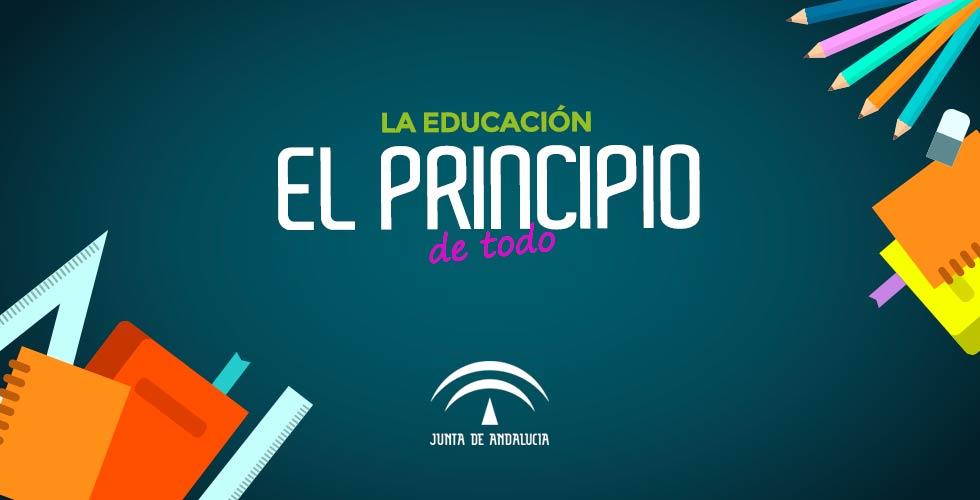 """Inicio de curso: """"La educación el principio de todo"""""""