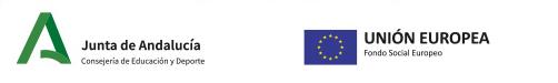 Junta de Andalucia y Fondo Social Europeo