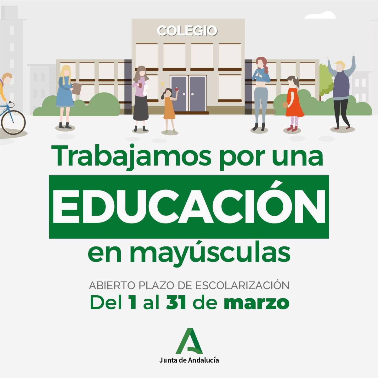 Escolarización 2020-2021 2º Ciclo de Infantil a Bachillerato