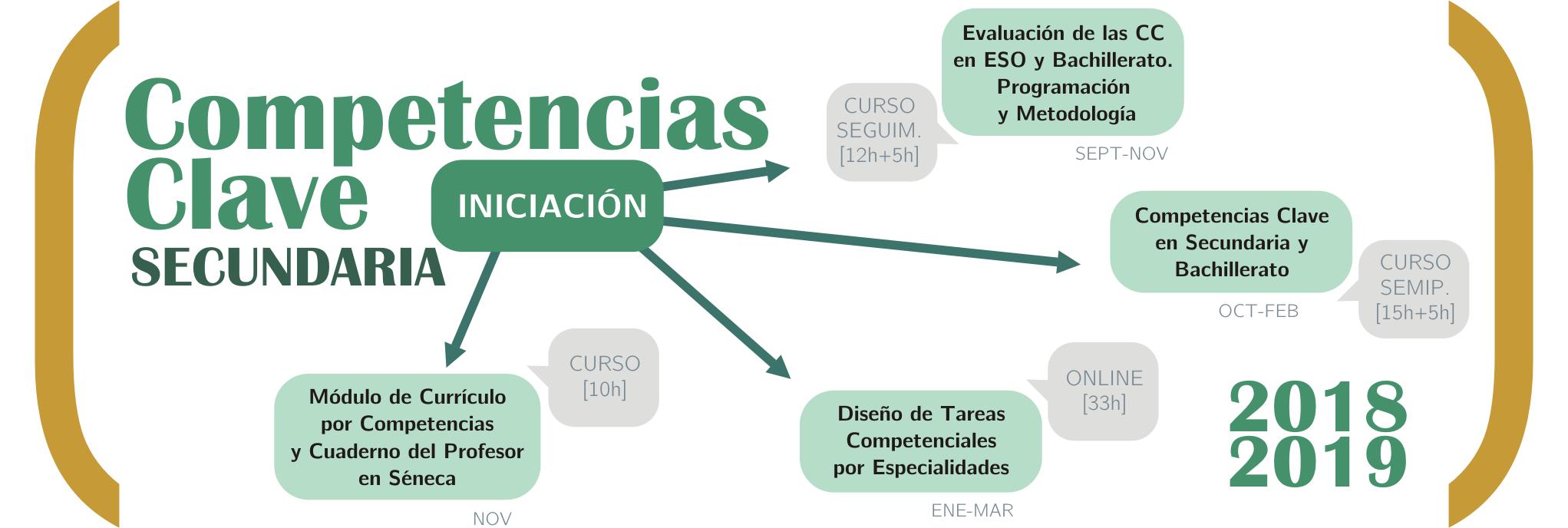 Itinerario de iniciación en competencias clave para secundaria