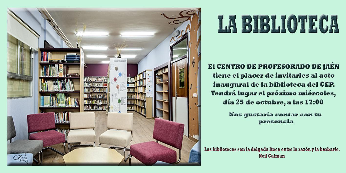 Inauguración biblioteca