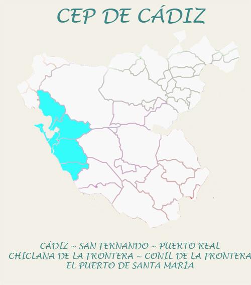 Datos de contacto del Centro del Profesorado de Cádiz
