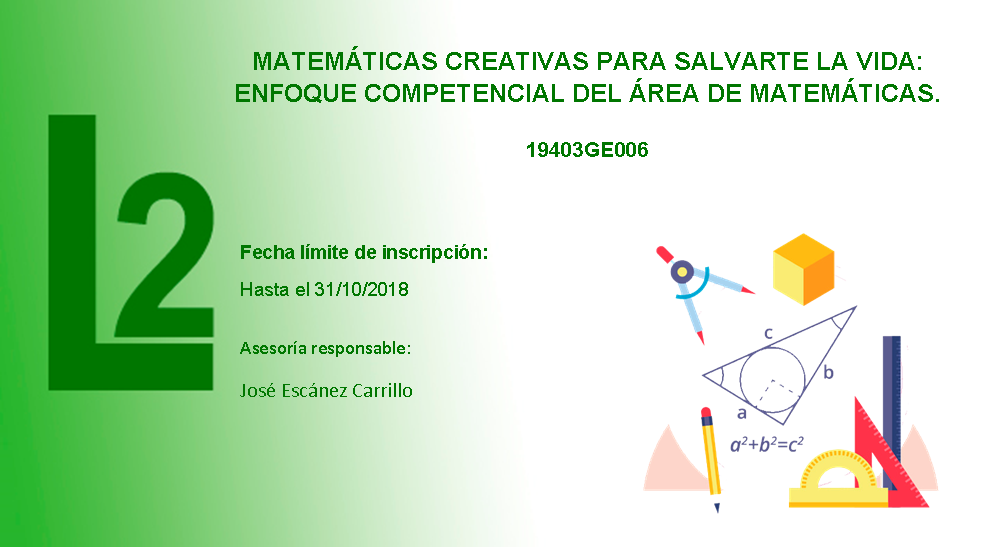 Matemáticas creativas