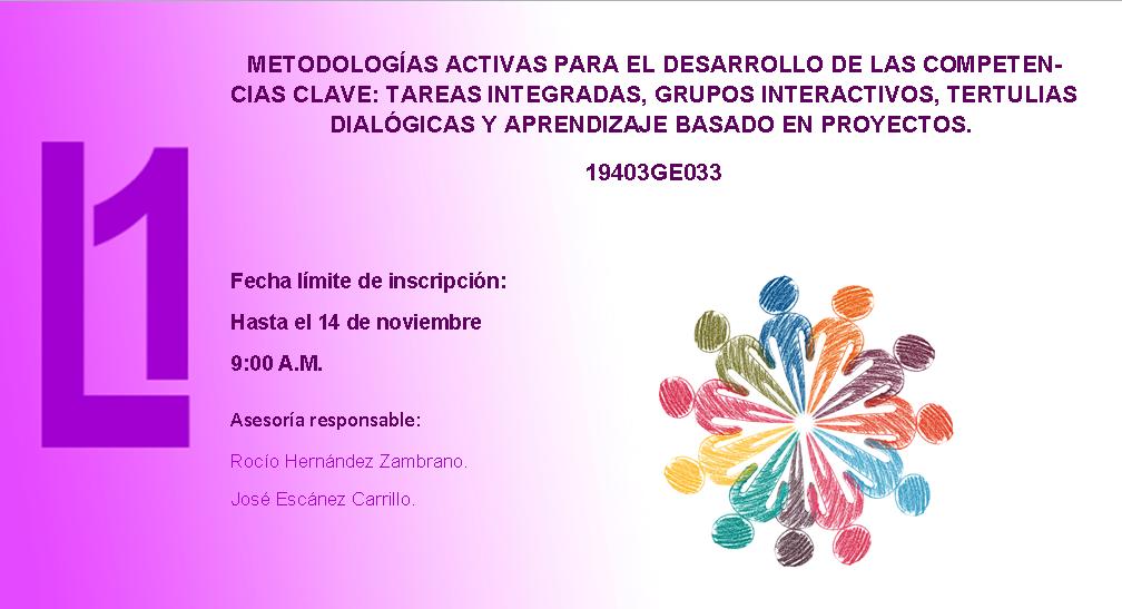 METODOLOGÍAS ACTIVAS PARA EL DESARROLLO DE LAS COMPETENCIAS CLAVE
