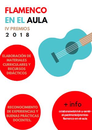 Convocatoria IV Premios Flamenco en el Aula