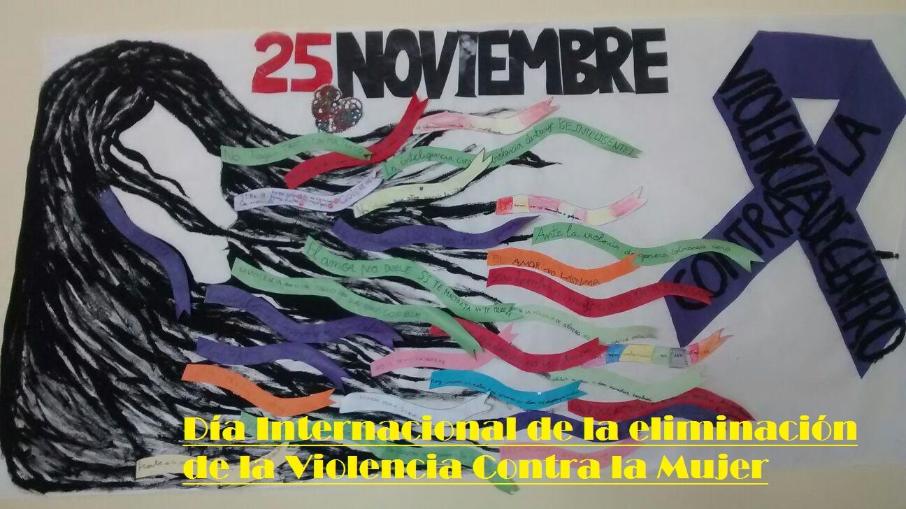 25 Noviembre. Día Intern. de la eliminación de la Violencia Contra la Mujer