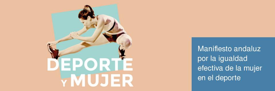 Manifiesto andaluz por la igualdad efectiva de la mujer en el deporte