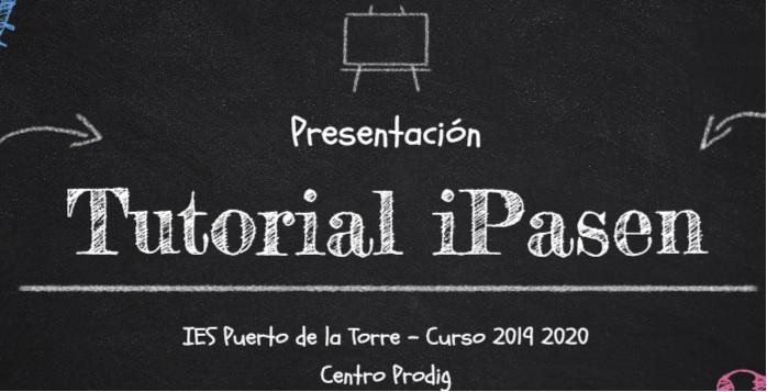 Tutorial iPasen - Seguimiento educativo del alumnado por las familias