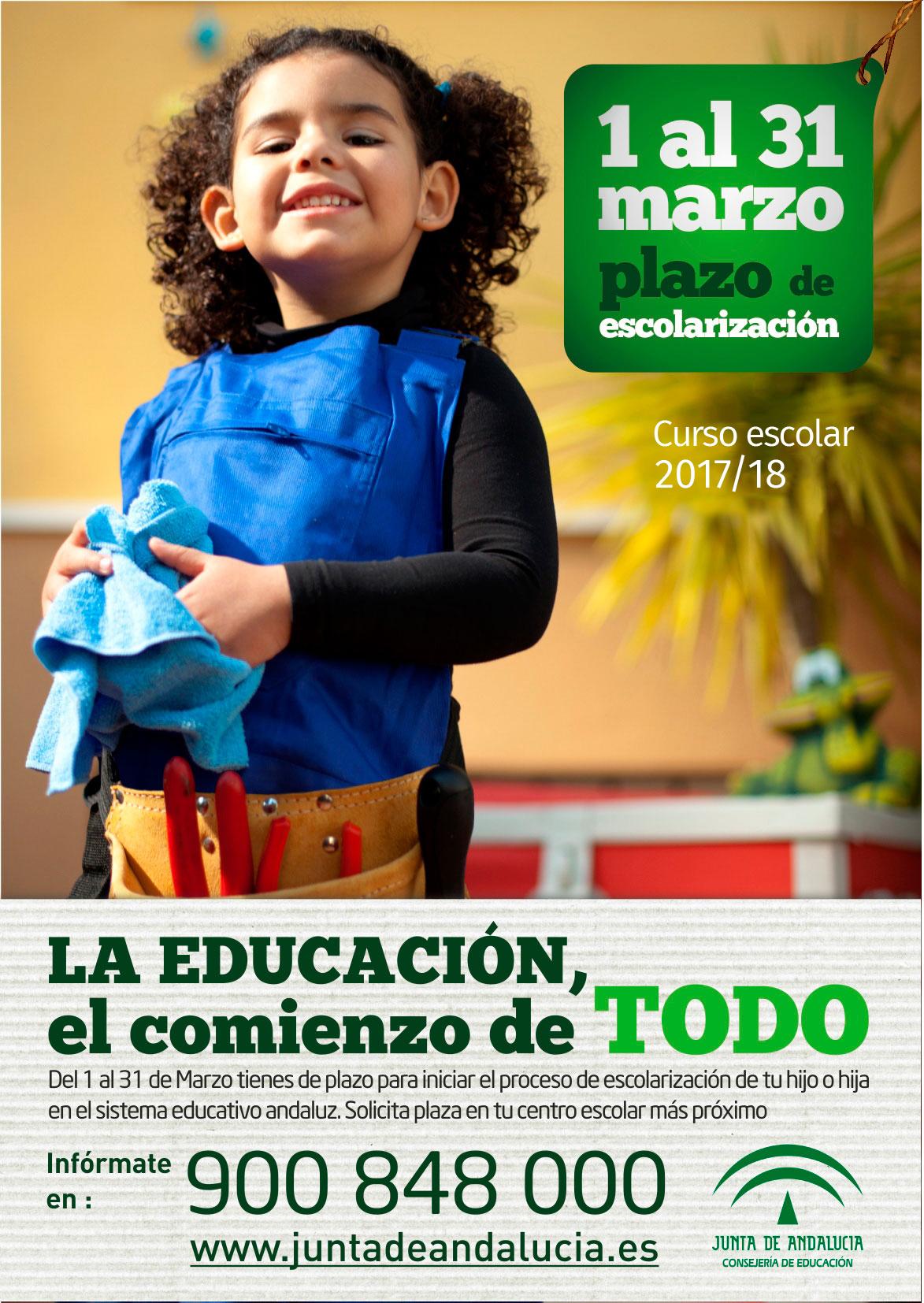 Escolarización 2017/18