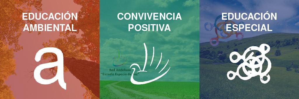 Buenas prácticas educativas (Educación ambiental, Convivencia positiva, Educación Especial)