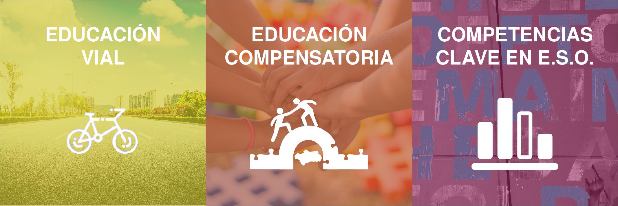 Buenas prácticas educativas (Educación vial, Educación compensatoria, Competencias clave en ESO)