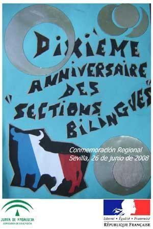 Décimo aniversario de secciones bilingües