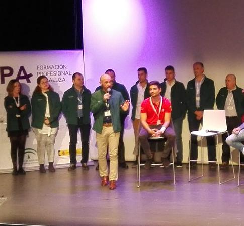 Expertos/as AndalucíaSkills2018