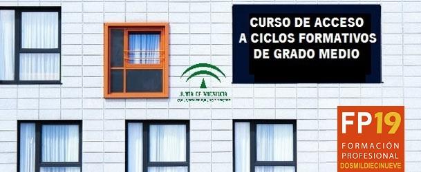 Escolarización 19-20 Curso de Acceso a ciclos formativos de grado medio