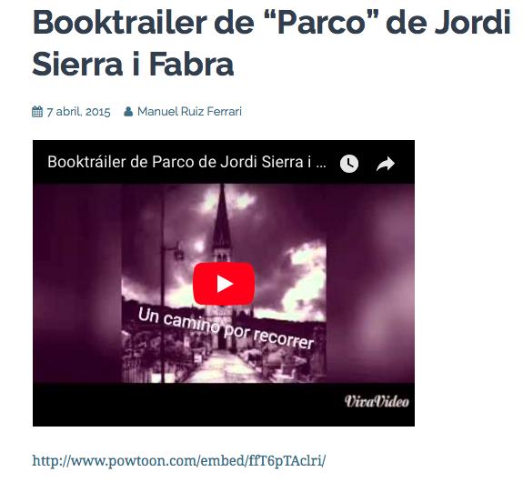 Booktrailer Parco