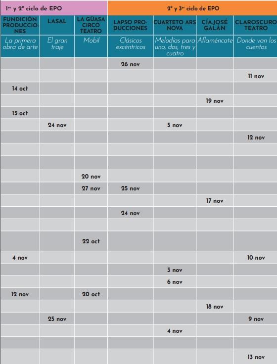 Calendario Abecedaria 20-21 Primaria 1