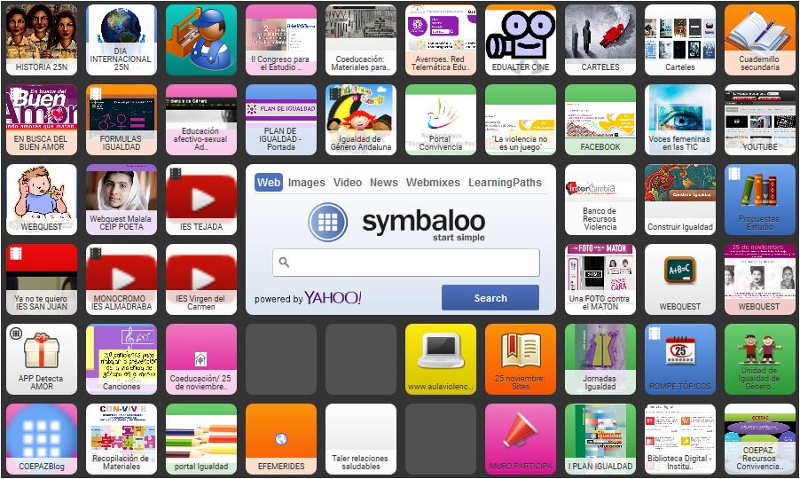 Symbaloo 25 noviembre
