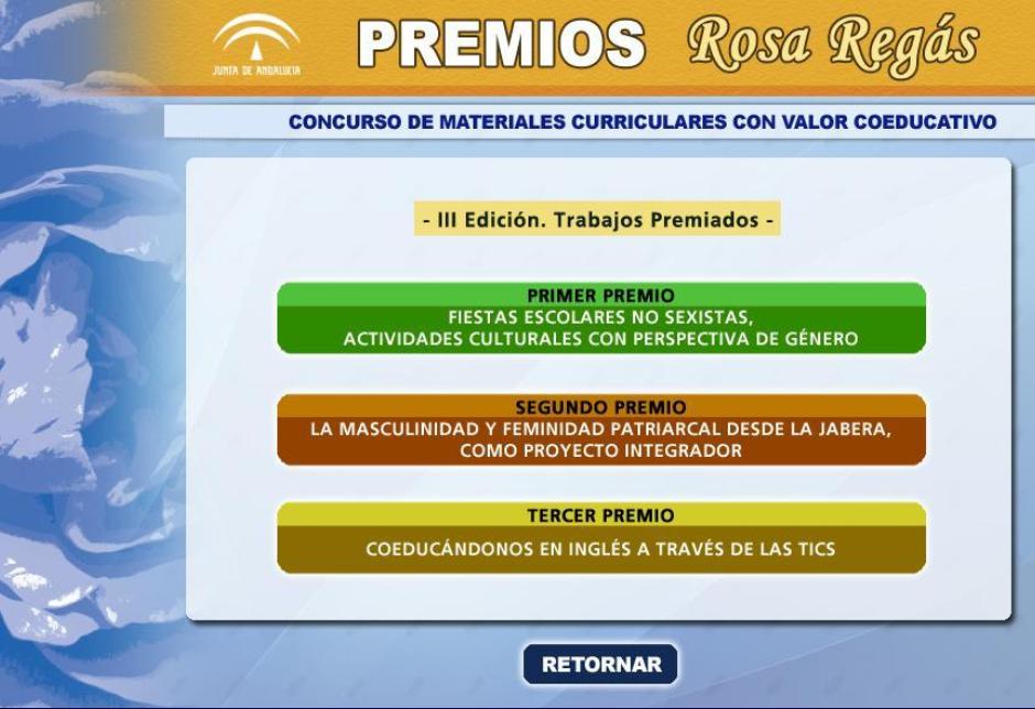 Materiales Rosa Regás III edición