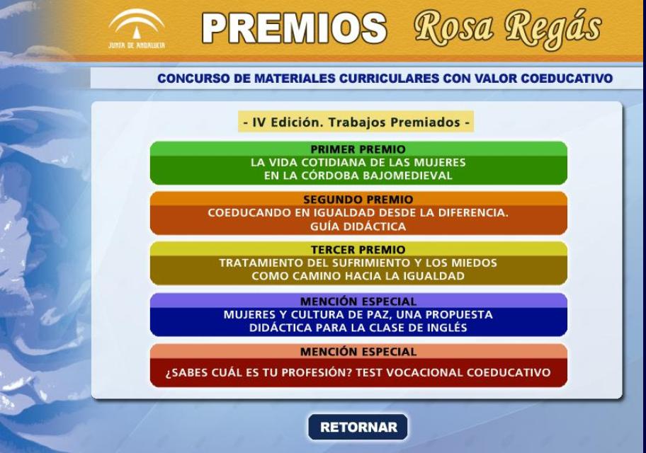 Materiales Rosa Regás IV edición