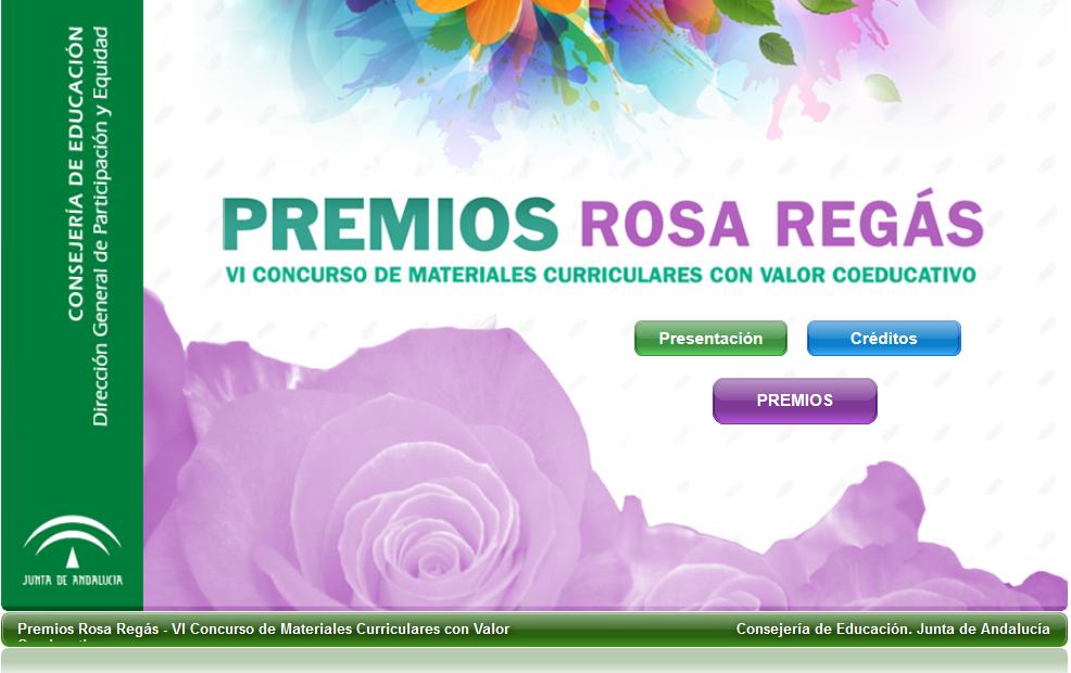 Materiales Rosa Regás VI edición