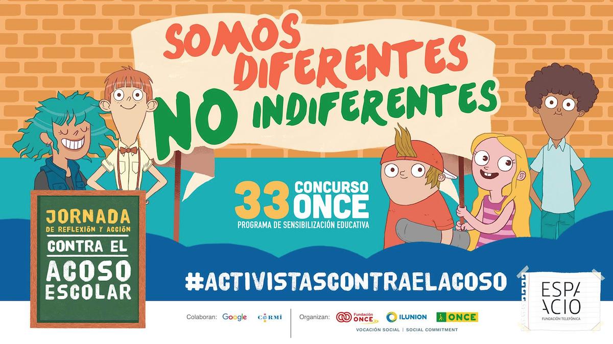 Concurso ONCE Activista contra acoso