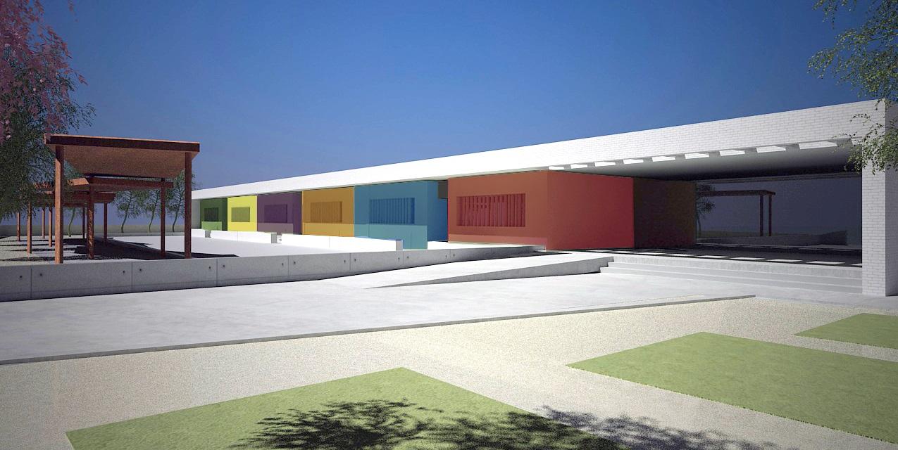 Imagen del proyecto del colegio Las Gaviotas