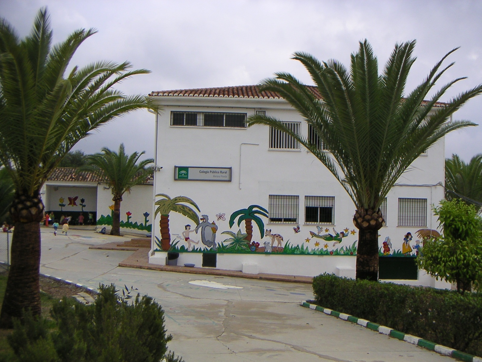 Colegio Rural Mariana Pineda de Zalea.