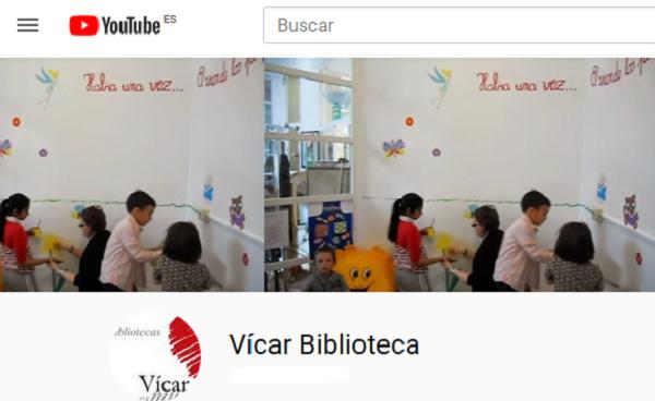 Biblioteca Municipal Vicar. Youtube