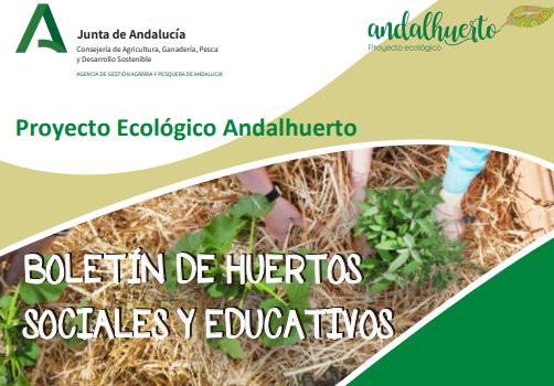 Suscríbase al Boletín del Proyecto ecológico Andalhuerto