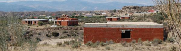 Imagen de una construcción en el Cabo de Gata