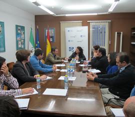 Directora General con representantes de AEMA