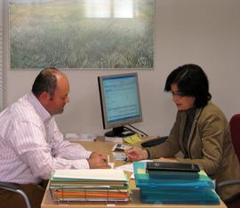 Atención a un emprendedor en un CADE de Andalucía Emprende
