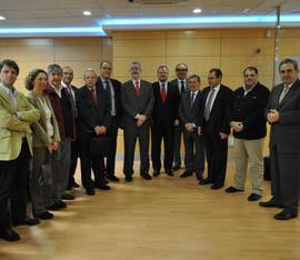Consejero Antonio Ávila con representantes del Tercer Sector