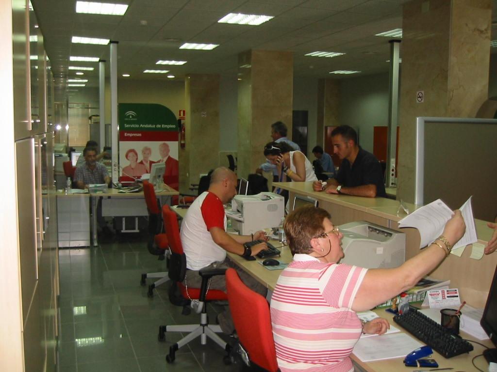 Una de las oficinas del SAE