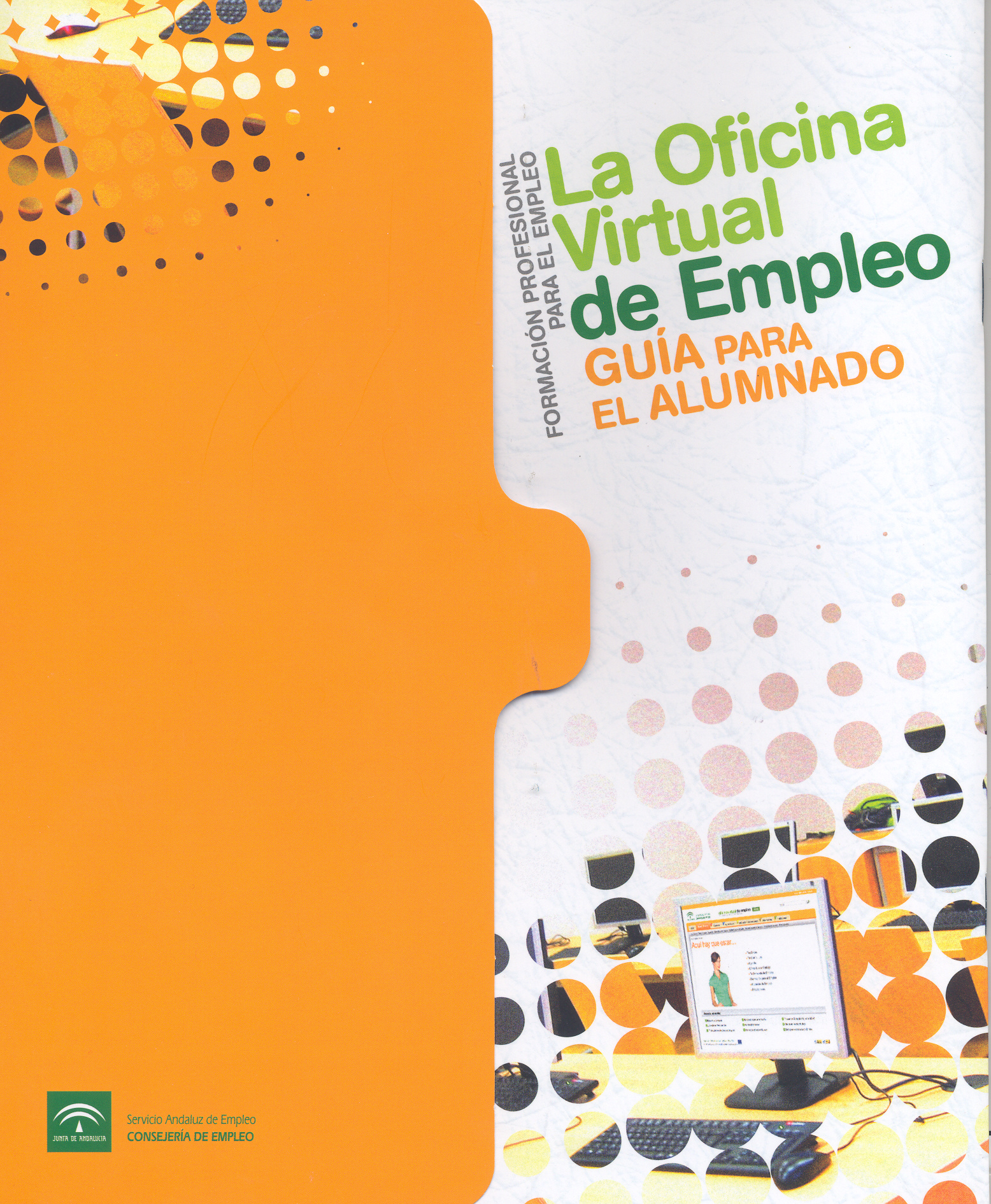 Junta de andaluc a la oficina virtual de empleo folleto for Oficina virtual empleo