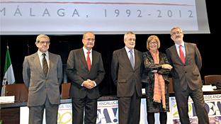 Un momento de la conmemoración del vigésimo aniversario del PTA.
