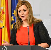 María Jesús Serrano, consejera de Medio Ambiente y Ordenación del Territorio.