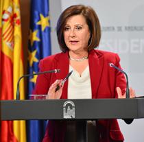 María José Sánchez, consejera de Igualdad, Salud y Políticas Sociales de la Junt