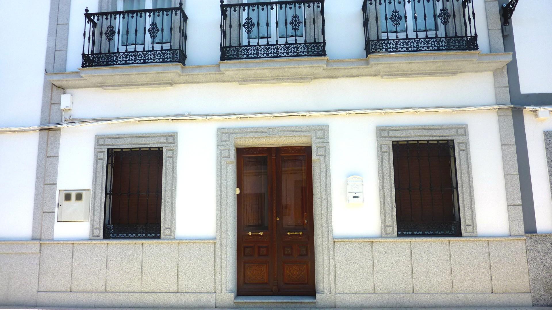 Bonito Fachadas De Casas Andaluzas Componente Ideas de Decoracin