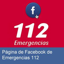 Página de Facebook de Emergencias 112