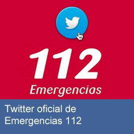 Twitter oficial de Emergencias 112