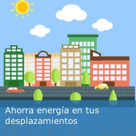 Ahorra energía en tus desplazamientos