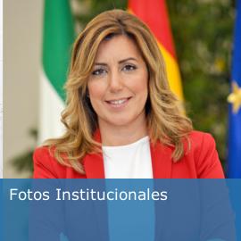 Fotos institucionales de la Presidenta de la Junta de Andalucía