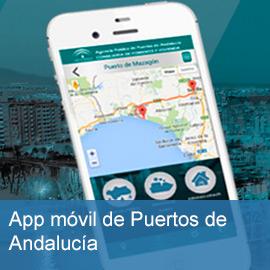 App móvil de Puertos de Andalucía